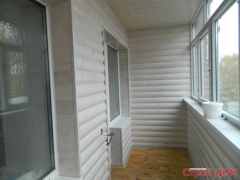 Лоджии, балконы, эркеры строй дом - все виды строительства з.